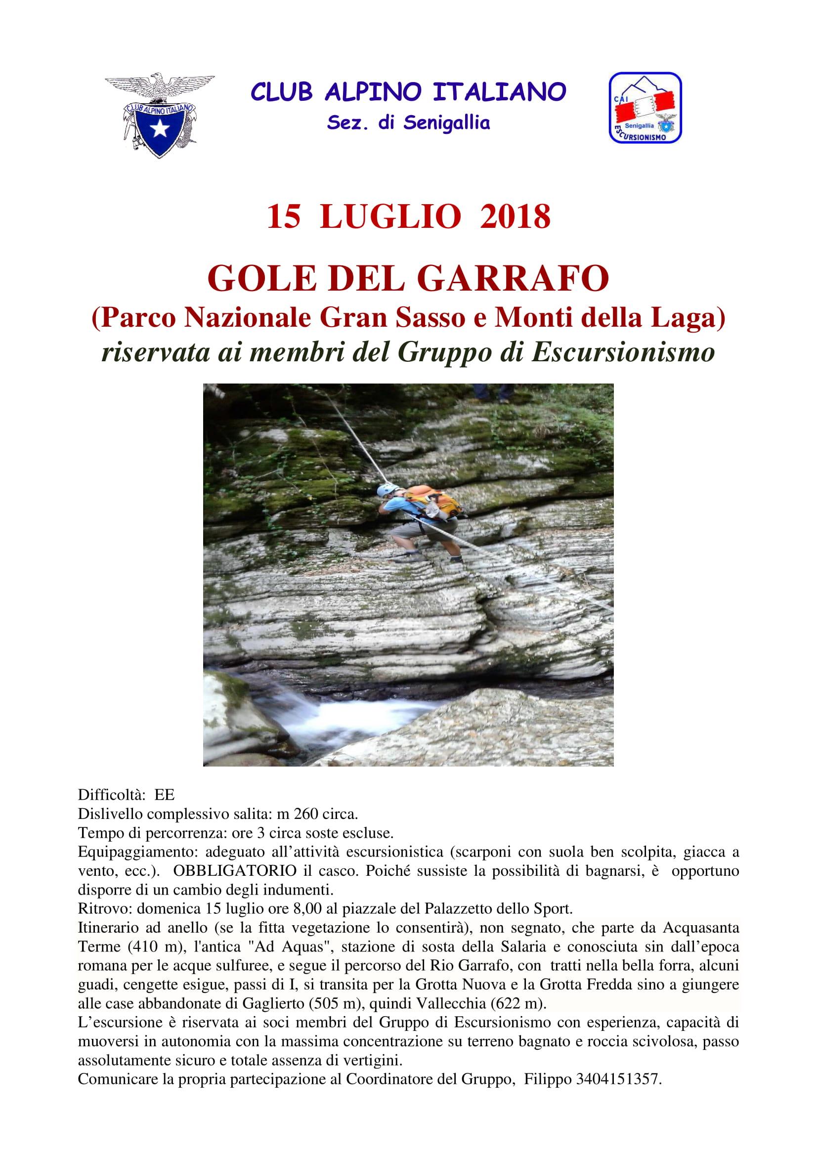GE - Gole del Garrafo @ Acquasanta Terme