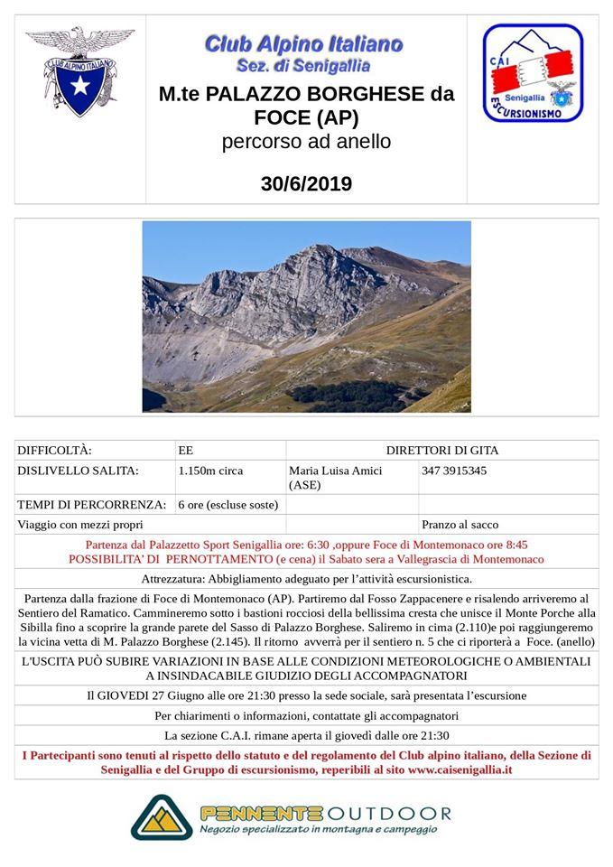 GE - Escursione al Monte di Palazzo Borghese