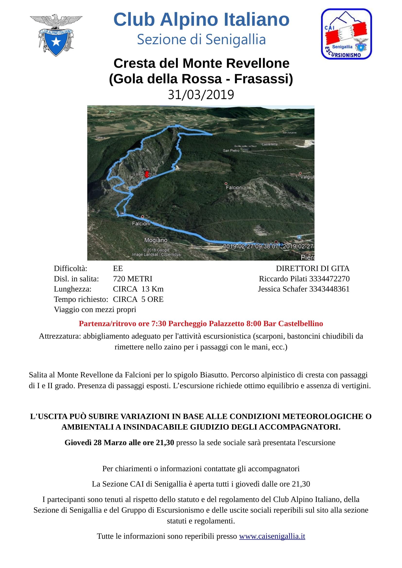 GE - Cresta del Monte Revellone