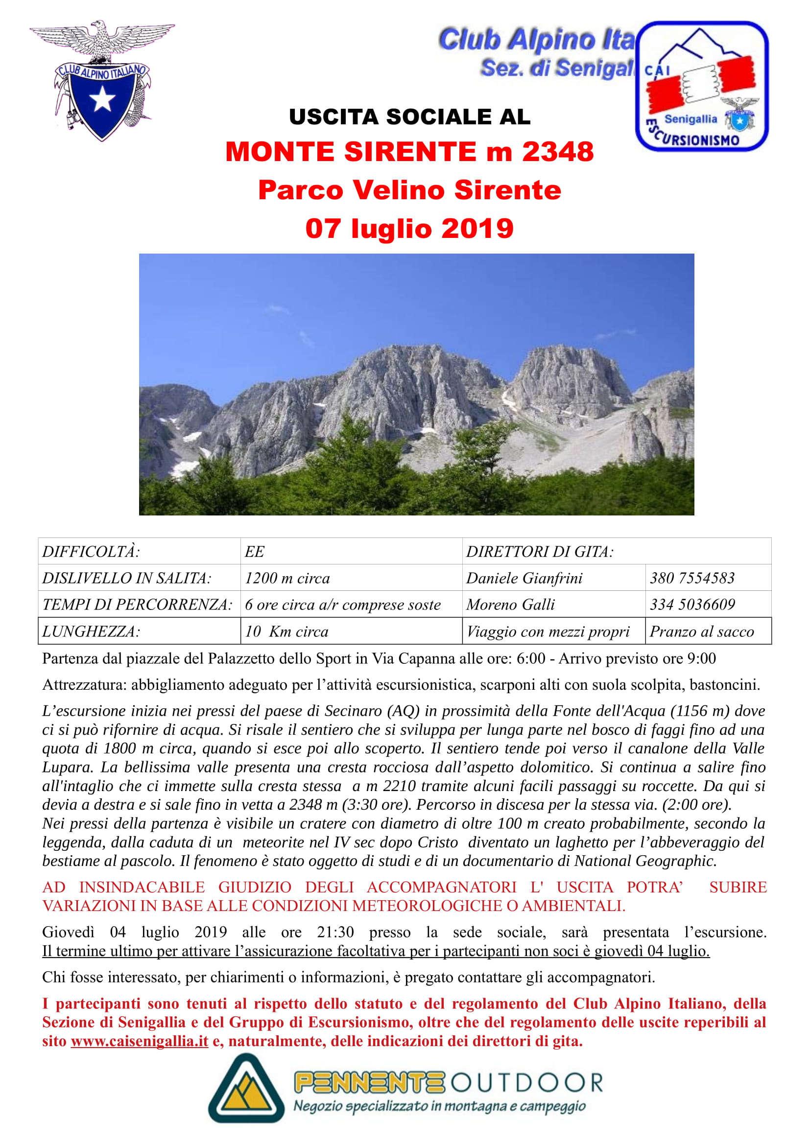 GE - Monte Sirente