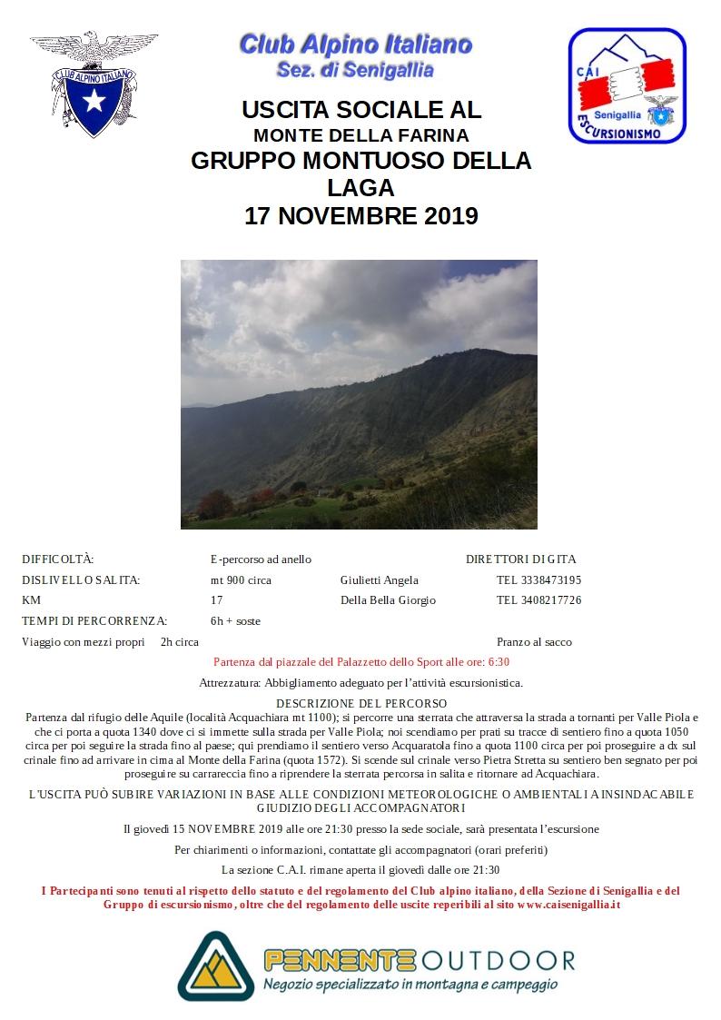 Escursione al Monte della Farina (Monti della Laga)