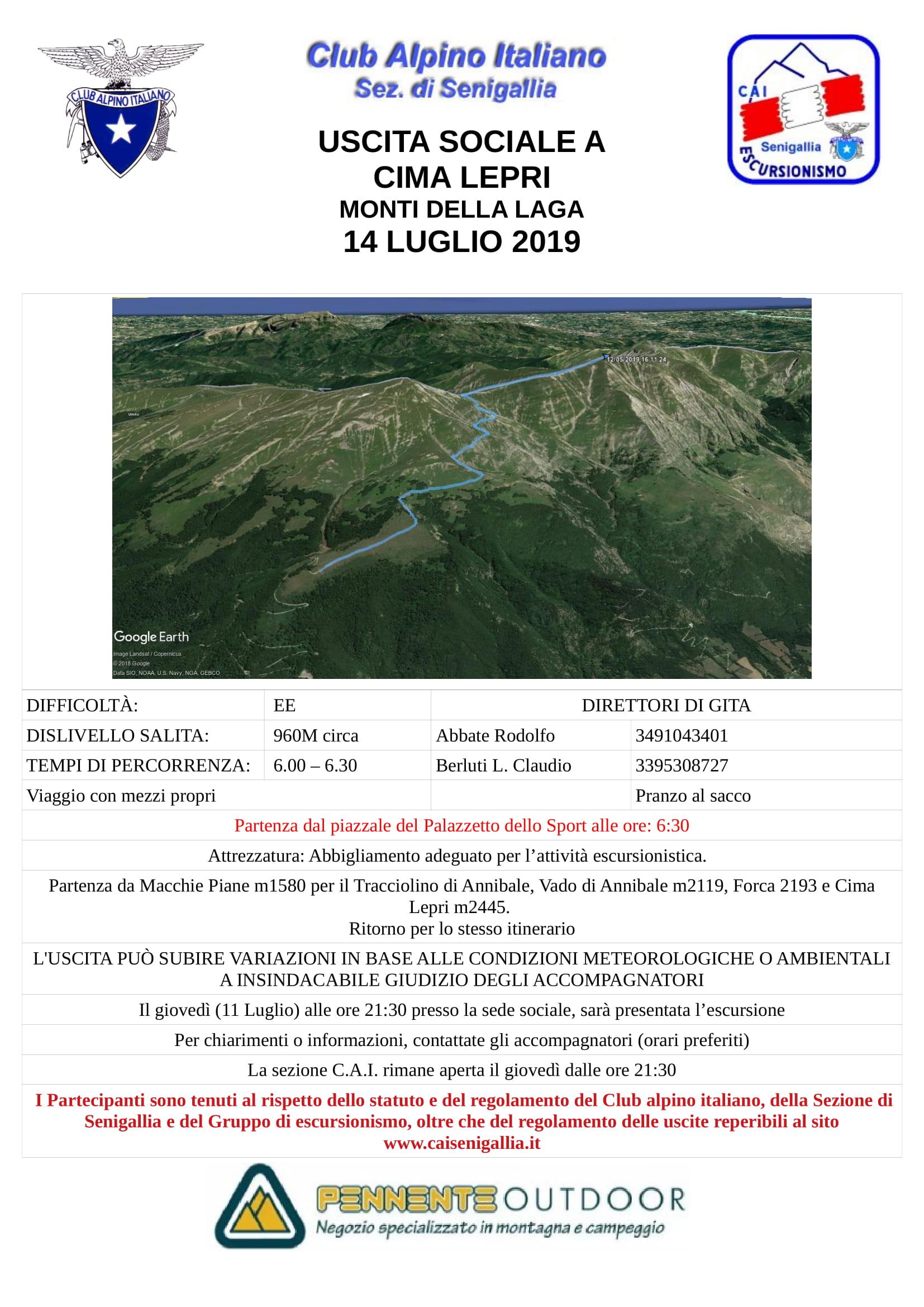 GE - Escursione ai Monti della Laga (Pizzo di Sevo e Cima Lepri)