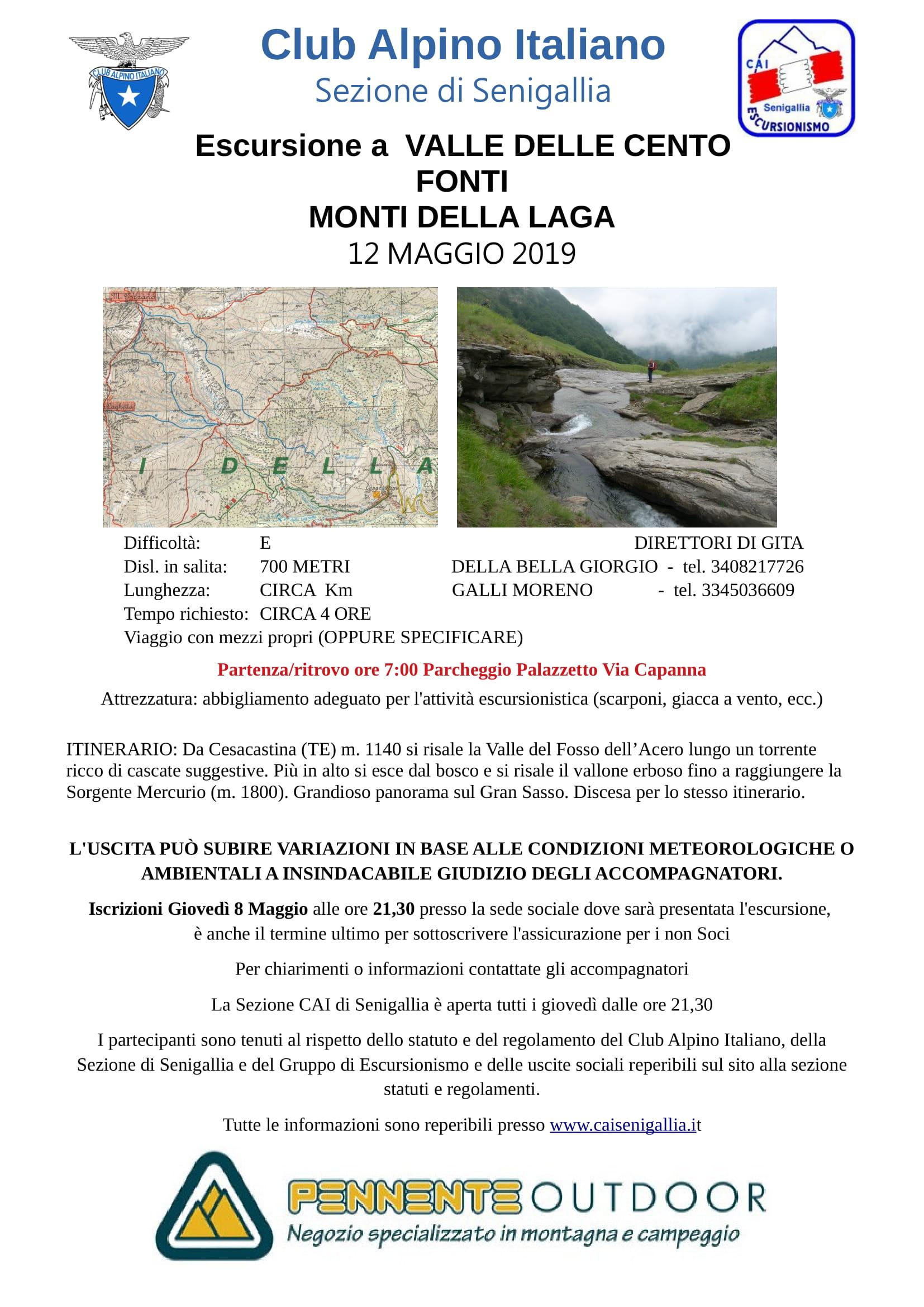 Escursione ai Monti della Laga (Cento Fonti)