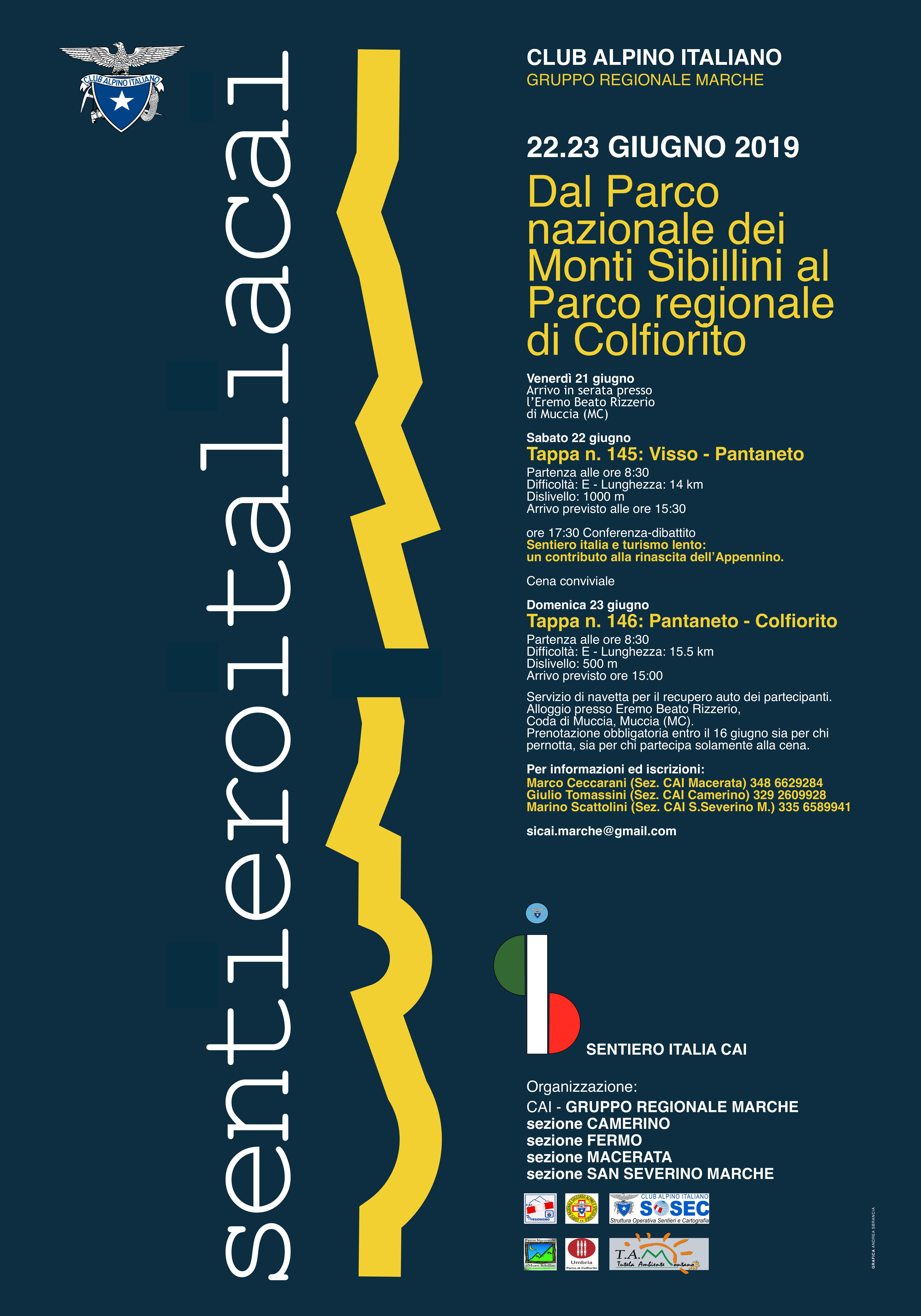 SENTIERO ITALIA CAI MARCHE